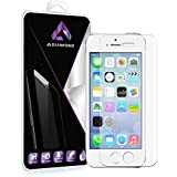 iPhone 5 5s 5c SE screen protector, Tempered Glass Screen Protector for iPhone 5s, iPhone 5, iPhone 5c, iPhone SE