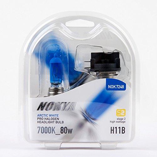 Nokya H11B Arctic White High Wattage 80w Headlight - Nokya Arctic White