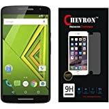 Chevron Pro Shock Absorbing 0.3mm Tempered Glass Screen Protector for Motorola Moto X Play