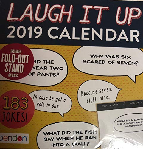 2019 Calendar Laugh IT UP 183 Jokes
