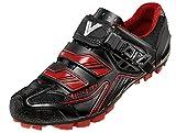 Vittoria Falcon Cycling Shoes, Black/Red, 44 EU/10 D US