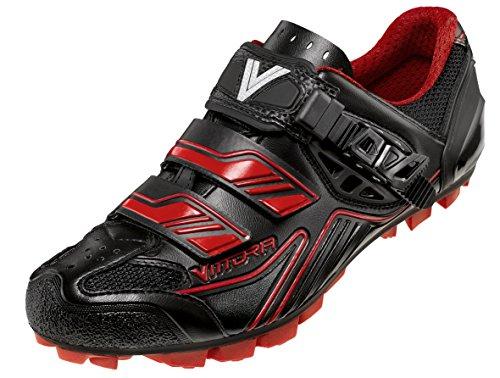 Vittoria Falcon Zapatillas de ciclismo para bicicleta Negro/Rojo