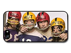 Red Hot Chili Peppers Rock Band RHCP Posing with Helmets Case for iPhone 55S a4382