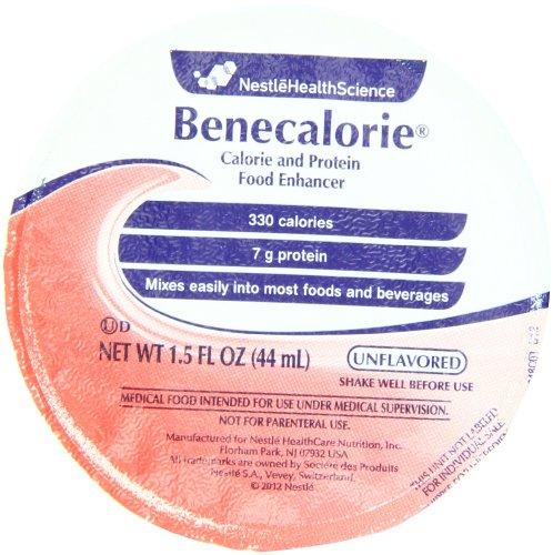 Benecalorie, 1,5 onces tasses (liquides) (Pack de 24)