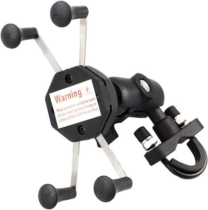 GUAIMI Multifunktion Handyhalterung Kamerahalter Universal f/ür 22mm//28mm Rohre Kompatibel mit Yamaha MT-07 FZ-07 14-18 MT-09 FZ-09 14-18 KTM Duke 125 200 390 1290 Superduke//R