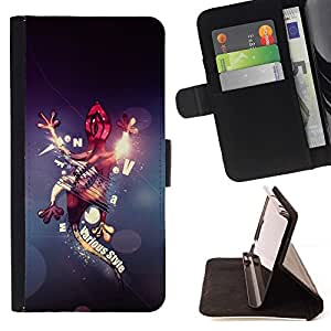 For LG G2 D800 Abstract Gecko Lizard Beautiful Print Wallet Leather Case Cover With Credit Card Slots And Stand Function