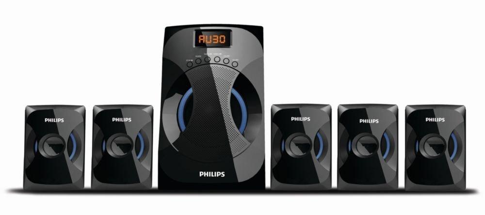 Philips SPA4040B/94 Multimedia Speakers System