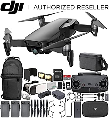 DJI Mavic Air Drone Quadcopter FLY MORE COMBO (Onyx Black) EVERYTHING YOU NEED Starters Bundle by SSE