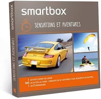 Smartbox - Pack experiencia Sensaciones y aventuras (disponible en Francia): Amazon.es: Salud y cuidado personal