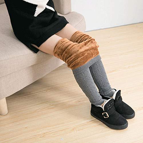 per Pantalones T/érmicas de Invierno para Ni/ñas Ni/ños Leggings Infantiles Calentadores para Piernas de Invierno Polainas Infantiles