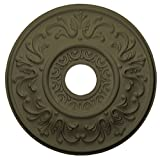 Ekena Millwork CM18VLWHF Valletta Ceiling Medallion, Witch Hazel
