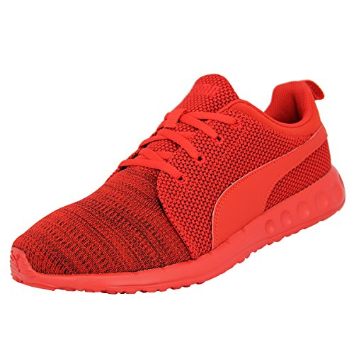 Puma carson Camo Knit Rot Herren Sneaker