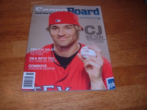 Scoreboard Magazine, November 2010 issue-Texas Rangers Pitcher CJ Wilson