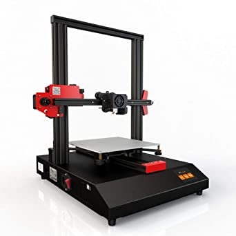 3D Printer,zorvo 3D Printing with All Metal Frame, DIY Printers with Resume Printing Function 220 x 220 x 250 mm, 2.8 Inch LCD Color Touch Screen