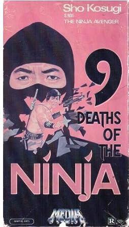 Amazon.com: Nine Deaths of the Ninja [VHS]: Shô Kosugi ...