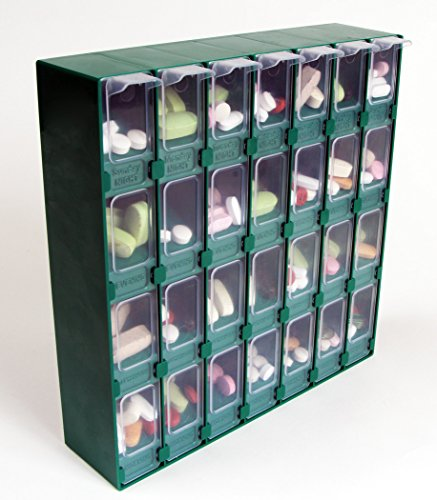 Meds-Pro 14-Day Double Sided Pill Organisateur