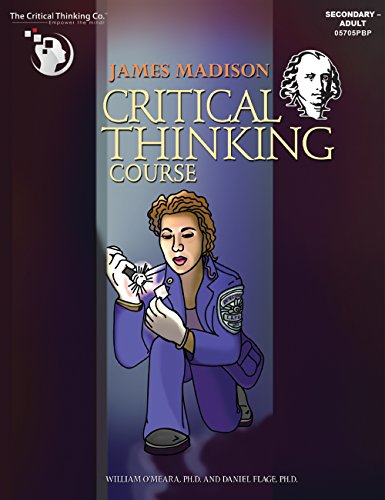 James Madison Critical Thinking Course - Captivating Crime-Related Scenarios (Grades 8-12)