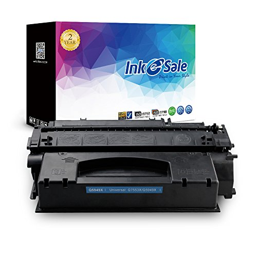 INK E-SALE Replacement for HP Q5949X 49X, HP Q7553X 53X Toner Cartridge for LaserJet 1320 Series, 3390, 3392 – High Yield, 1 (Laserjet 3390 Series)
