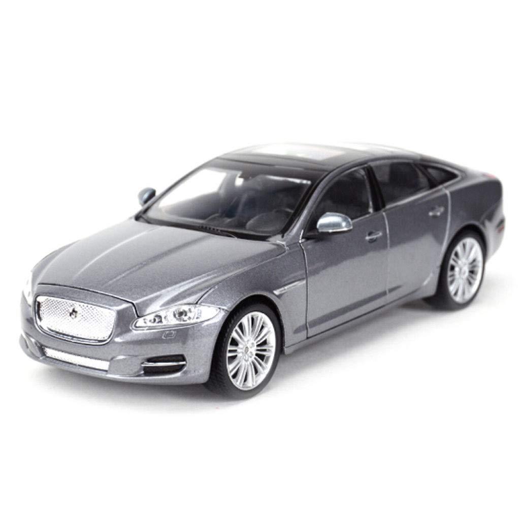 Couleur : Silver PENGJIE-Model 1:24 Jaguar XJ Static Simulation Alliage Mod/èle De Voiture Collection D/écorations Collection Cadeaux