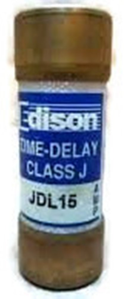 Bussmann JDL-15, 15Amp 600V Cartridge Fuse