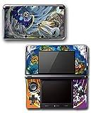 Pokemon Ultra Sun Moon Solgaleo Lunala Legendary Video Game Vinyl Decal Skin Sticker Cover for Original Nintendo 3DS System