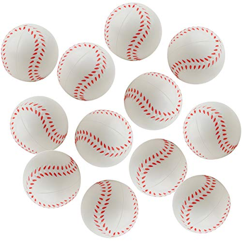 Baseball Stress Ball - DORUS 12 pcs Baseball Sports Themed