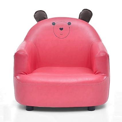 Mini sillón para niños, tela PU Fácil de limpiar sofá Banco ...