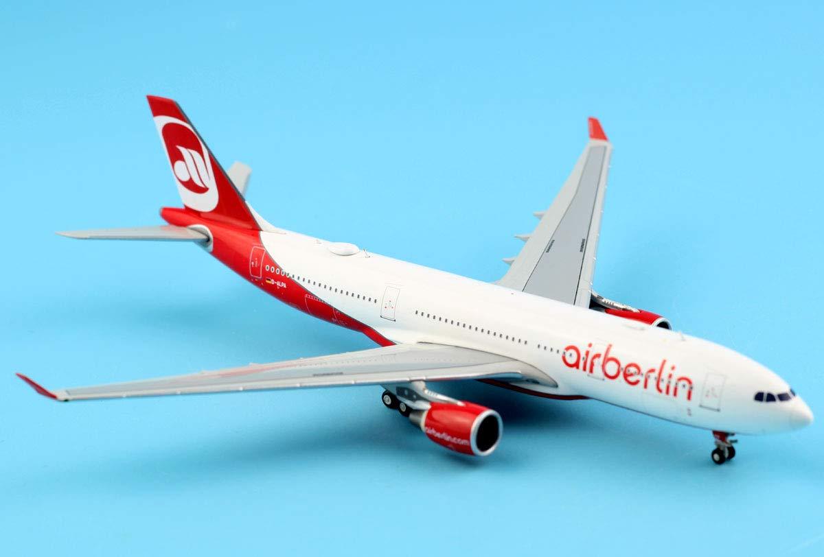 JC Wings 1:400 XX4023 Airberlin Airbus A330-200 Diecast Model Reg:D-ALPA
