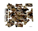 Designer Decoration Skin Wrap Water Resistant PVC Sticker Decal Kit for DJI Phantom 3 Professional / Advanced Quadcopter Body - Desert Camo
