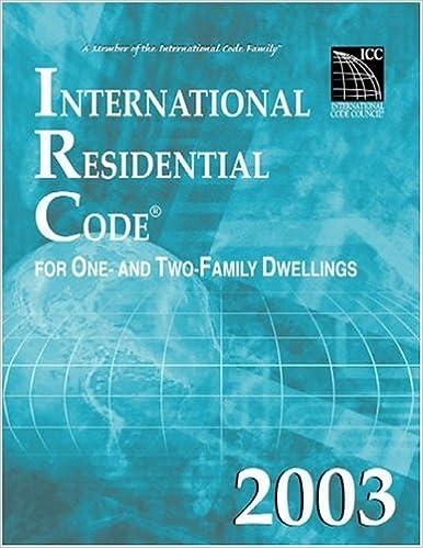 International Residential Code 2003 International Code