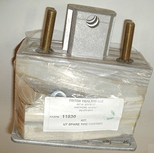 Triton 11830 UT Series Utility Trailer Spare Tire Carrier Kit by Triton