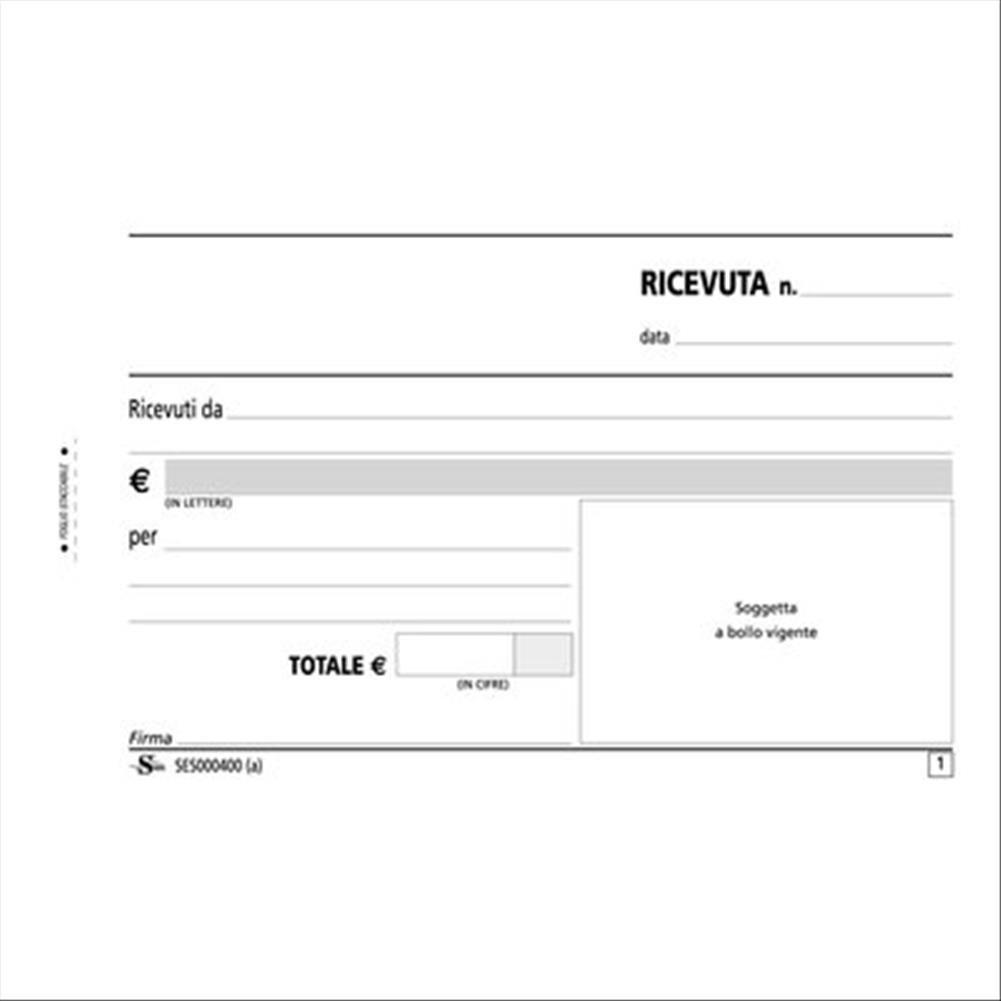 Semper Multiservice 288225 Blocco Ricevute Generiche
