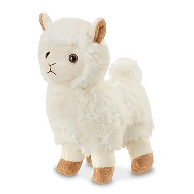 Bearington Lil' Alma Small Plush Stuffed Animal Llama, 7 inches: Toys & Games