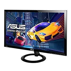 "ASUS VX248H 24"" Full HD 1920x1080 1ms HDMI DVI VGA Eye Care Gaming Monitor"