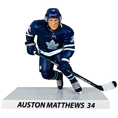 Auston Matthews #34 Figur Imports Dragon NHL Toronto Maple Leafs