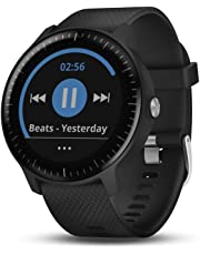 "Garmin 010-01985-01 vívoactive 3 Music, GPS Smartwatch with Music Storage and Built-in Sports Apps, 1.2"", Black"