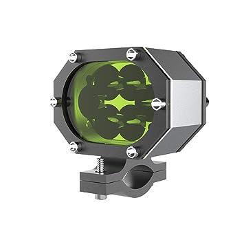 Motocicleta 30W LED Luz de conducción 3 Modos Luz antiniebla ...