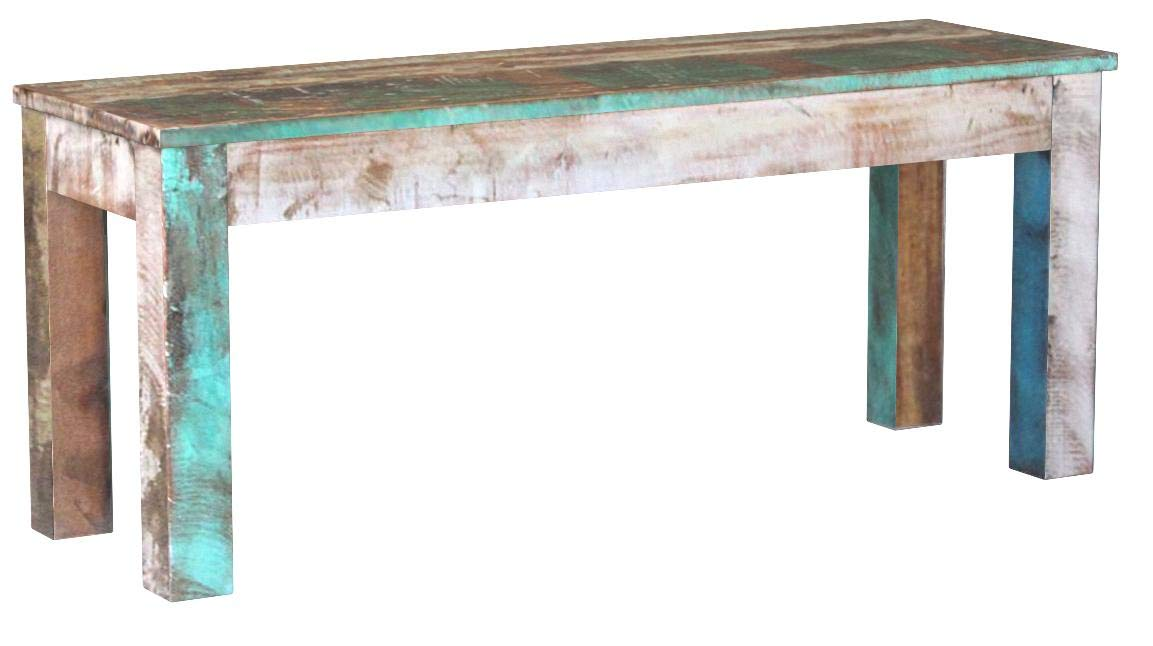 Festnight Reclaimed Wood Bench for Home Kitchen or Entryway, 43.3''x 13.8''x 17.7'', Handmade by Festnight