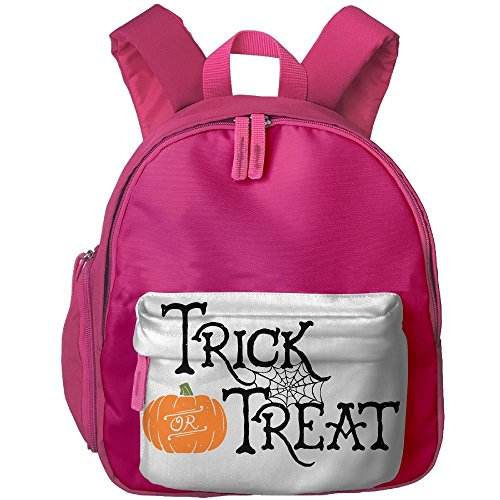 Trick Or Treat Pumpkin Floral Print School Bag For Children Boys Girls - Diy Halloween Costumes Teenage Girls