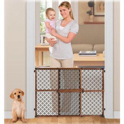 Summer Infant Secure Pressure Mount Wood & Plastic Deco Baby Gate - Summer Infant Sweet
