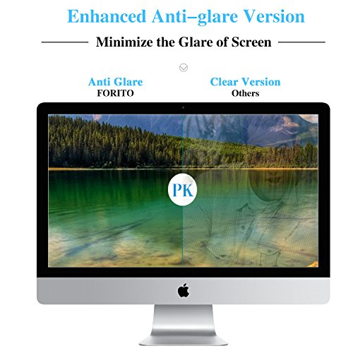 [2 Pack] FORITO Anti Glare Matte Screen Protector Compatible with Apple iMac 21 inch All-in-Ones Desktop Screen