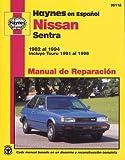 Nissan Sentra 1982-94, John Haynes, 1563922355