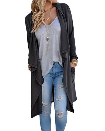 Manteau gilet femme gris
