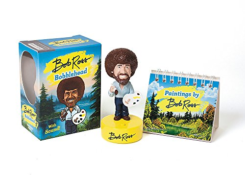 Bob Ross Bobblehead: With Sound! (Miniature Editions) -