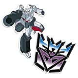 Popfunk Transformers Decptions Megatron Collectible Stickers
