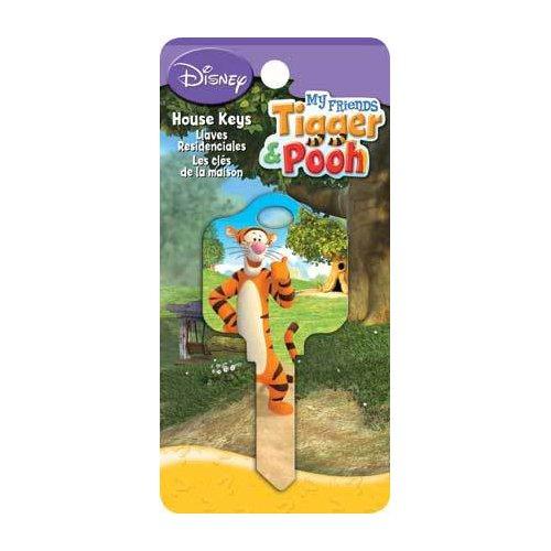 Tigger Winnie the Pooh Friends Kwikset KW1 House Key