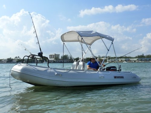Saturn Inflatable Boats Open Water Rafts, 15' - Buy Online
