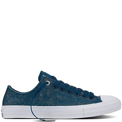 195039a8a8 Converse Men s CTAS II OX Skateboarding Shoes Blue Lagoon White Reflective  (US 13