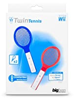 Wii - Tennis Schläger Twin-Pack