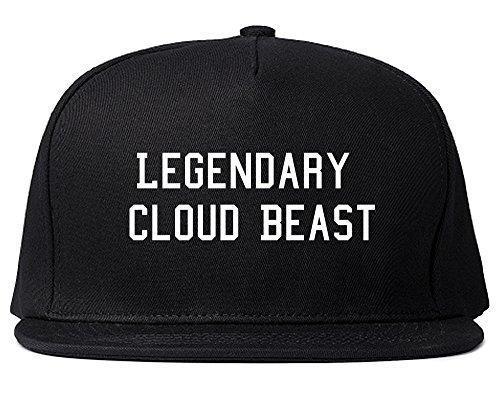 FASHIONISGREAT Legendary Cloud Beast Snapback Hat Black ()